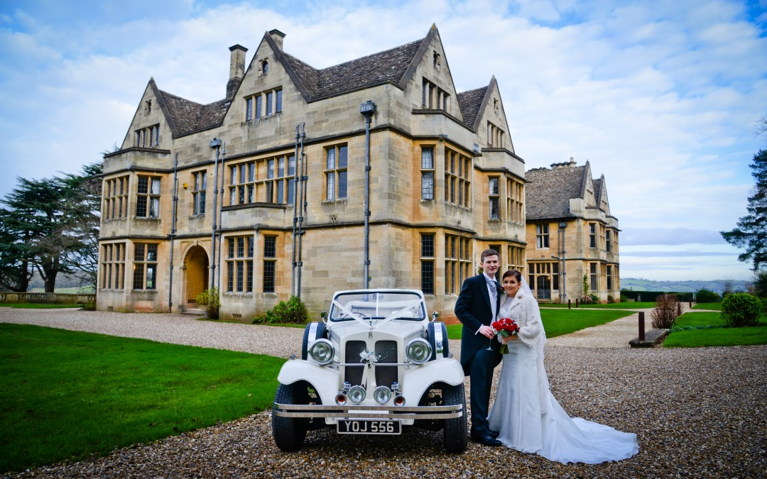 First Wedding in 2016 at Coombe Lodge, Blagdon