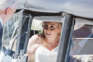 Wedding at the Bristol Golf Club in Vintage Style Wedding Cars Bristol