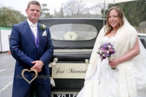 Sarah & Michael 21.2.16 Bath Chronicle Win a Wedding Winners