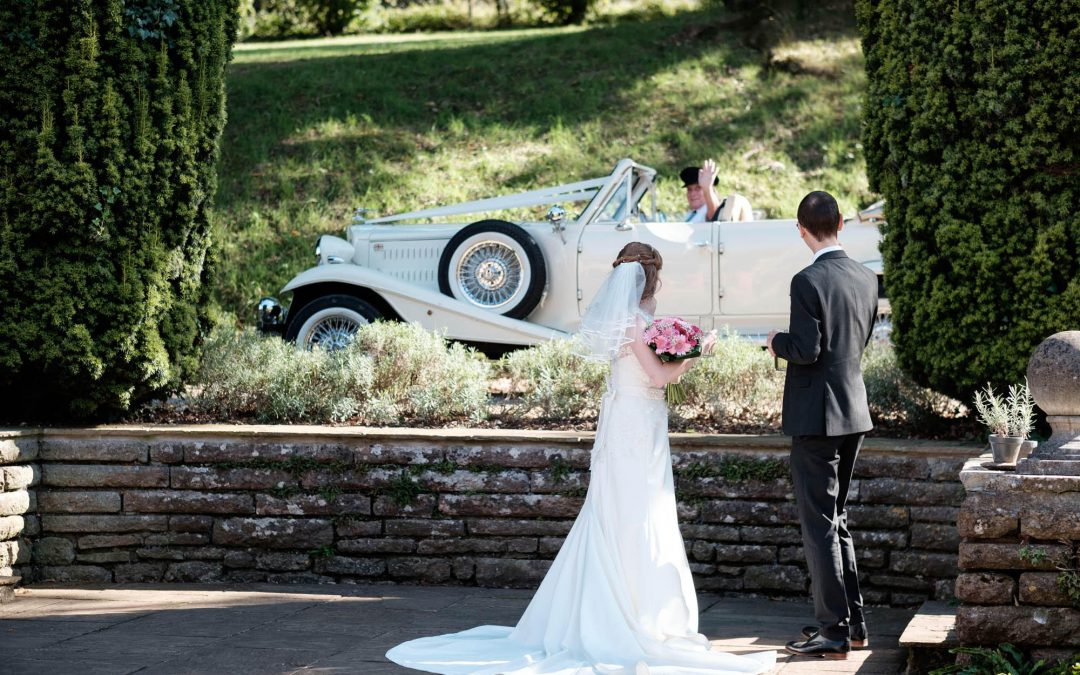 Summer wedding at Coombe Lodge in Blagdon