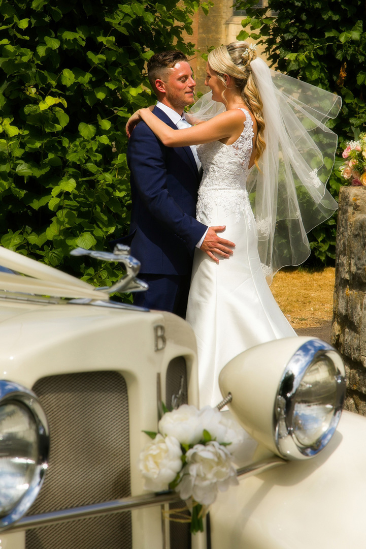 Our beautiful vintage style ivory convertible