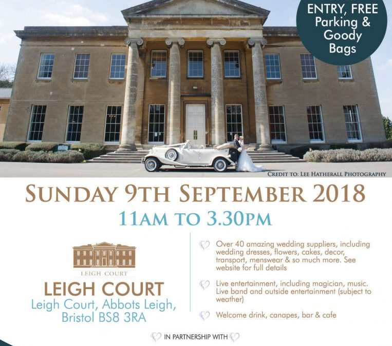 Meet & View the Car this Sunday, 9 September 2018 at Leigh Court Wedding Fayre